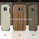 Samsung Galaxy S7 - เคสลายไม้ TPU ROCK แท้