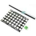 WS2812 NeoPixel Matrix 8x5 WS2812B RGB 40 LED Shield