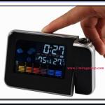 นาฬิกาตั้งโต๊ะ เอนกประสงค์ Weather Station Projection Clock