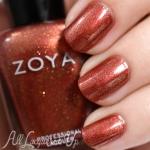 Zoya - Autumn สีน้ำตาลอมทองส้ม ผสมชิมเมอร์เนื้อละเอียด สีสวยมากๆ แนะนำเลยค่ะ