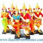 ตุ๊กตาชุดไทย แบบรำไทยคู่พระนาง (Pre-Order คละสี)