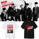 เสื้อยืด iKON NEW KIDS CONTINUE Logo -ระบุสี/ไซต์-