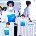 เสื้อยืด BLEACH Balmain baby Tee Sty.Taehyun winner -ระบุสี/ไซต์-