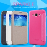 Samsung Galaxy J5 - เคสฝาพับ Nillkin Sparkle leather case แท้