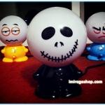 โคมไฟจู๋หัวกลม ( หน้า ซอมบี้) cartoon face lamp