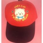 หมวกแก็ป HELLO TEDDY BEAR