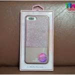 iPhone 7 Plus - เคส LUXURY หลังประกายกากเพชร สีโรสโกล popphune