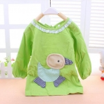เสื้อ สีเขียว แพ็ค3ชุด ไซส์ 90-100-110