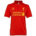 เสื้อทีมเหย้า Liverpool 2012 - 2013