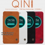 Asus Zenfone Max - เคสฝาพับ หนัง Nillkin QIN Leather Case แท้