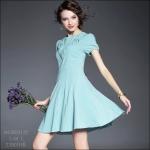 M5805152 / S M L / 2015 Hiend Design Fashion dress พรีออเดอร์เดรสแฟชั่นงานเกรดยุโรป สวยดูดีมีสไตล์ นางแบบใส่ชุดจริง เป๊ะเว่อร์!