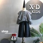 เสื้อ สีเทา แพ็ค 5 ชุด ไซส์ 100-110-120-120-130