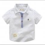 เสื้อ สีฟ้า แพ็ค 4 ชุด ไซส์ 90-100-110-130
