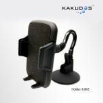 ที่จับมือถือ ในรถยนต์ รุ่นก้านยาว Kakudos Car Holder K-065 แท้