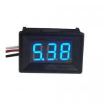 "DC volt meter 0.36"" 0-100V โวลต์มิเตอร์ 0-100V ขนาด 0.36 นิ้ว สีน้ำเงิน"