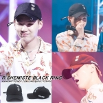 หมวก R.SHEMISTE BLACK RING แบบ SUGA