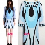 PUC110 Preorder / EMILIO PUCCI DRESS STYLE