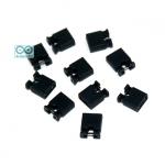 จัมเปอร์ สีดำ Mini Jumper 2 Pins Female Pitch 2.54mm จำนวน 10 ชิ้น