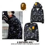 Jacket Hoodie Aape Bape SHARK MIX COLOR-ระบุไซต์-