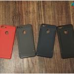 Huawei Y9 2018 - เคสนิ่ม TPU Hybrid ลายเคฟล่า