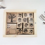 Pre order Stamp ตรายาง DIARY CUTI STAMP