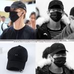 หมวก R.SHEMISTE BLACK แบบ V BTS