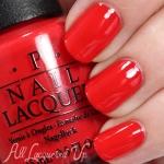OPI - I STOP for Red โทนสีแดงสวย โดดเด่นทาได้ทุกโดทนสี