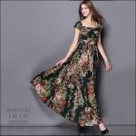 M5805163 / S M L XL / 2015 Hiend Design Fashion dress พรีออเดอร์เดรสแฟชั่นงานเกรดยุโรป สวยดูดีมีสไตล์ นางแบบใส่ชุดจริง เป๊ะเว่อร์!