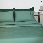 ผ้าปูที่นอน รัดมุม10นิ้ว ผ้าCVC250เส้นด้าย มี 18สี 5/ 6 ฟุต 3ชิ้น ชุดละ 540 บาท ส่ง 20ชุด