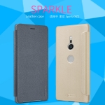 Sony Xperia XZ2 - เคสฝาพับ Nillkin Sparkle leather case แท้