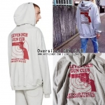 HOODIE VETEMENTS Oversized GUN CLUB Gary 16ss -ระบุไซต์-