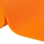 เสื่อโยคะ ขนาด 6 มิลลิเมตร สีส้ม, แถม สายรัด+กระเป๋า