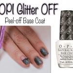 OPI - Glitter OFF เบสโค้ทที่เหมาะกับสีกลิตเตอร์ที่สามารถลอกสีเล็บ กลิตเตอร์ออกมาง่ายๆ โดยไม่ต้องใช้น้ำยาล้างเล็บค่ะ.