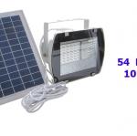 ไฟสปอร์ตไลท์โซล่าเซลล์  54 LED 10w