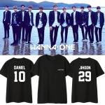 เสื้อยืด WANNA ONE 1st Name member -ระบุสี/ไซต์/สมาชิก-