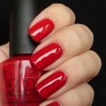 OPI Color So Hot it Berns - สีแดงร้อนแรง โทนสียอดฮิตและขายดีในหมวดสีของ OPI
