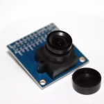 โมดูลกล้องพร้อมชิฟ FIFO Webcam Module OV7670 + FIFO(AL422B) Camera Module ov7670 camera take LDO