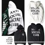 Hoodie Anti Social Social Club Basic logo -ระบุสี/ไซต์-