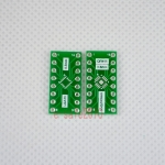 QFN16 turn DIP16 0.5/0.65MM Pitch IC adapter Socket / Adapter plate PCB