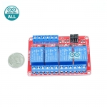 Relay 4 Channel 24V relay Active High / LOW Relay Module Shield 250V/10A relay 24v