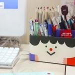 กล่องกระดาษใส่ดินสอ PAPER PENCIL BOX (FUNNY FACE) (พรีออเดอร์)