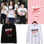 เสื้อแขนยาว TWICE What is Love Logo -ระบุสี/ไซต์-