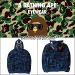 Jacket Hoodie Aape Bape SHARK Camo BLUE -ระบุสี/ไซต์-
