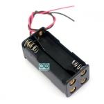 Battery holder case box 4 AAA ขั้วถ่าน รางถ่าน AAA 4 ก้อน 6V