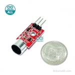 MIC MAX9812 sound sensor module microphone amplifier module เซนเซอร์เสียงความไวสูงพร้อมวงจรขยายสัญญาณ MAX9812