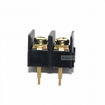ขั้วต่อTerminals blocks connector ระยะขา 10mm 2 ขา Terminal Block Connector 2 Pins 300V/25A Pitch 10.00mm