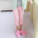 กางเกง สีชมพู แพ็ค 5 ชุด ไซส์ 7-7-9-11-13