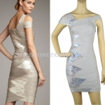 HV103 / Preorder Herve Legr Dress Style พรีออเดอร์เดรสไตล์ Hervr Leger เดรสผ้ายืด ใส่สวยเน้นรูปร่าง