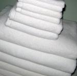 ผ้าขนหนู Cotton100% ด้ายคู่ สีขาว ผ้าเช็ดหน้า 12*12นิ้ว 1.5ปอนด์ โหลละ 265บาท ส่ง 10โหล