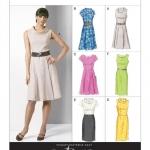 แพทเทิร์นตัดเดรสสตรี มีแขน Vogue 8667 ไซส์ปกติ Size: 8-10-12-14 (อก 31.5-36 นิ้ว)